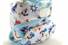 Sailor 1-clodi Original Pocket PUL Ecobum,anak aktif,newborn cover,grosir clodi murah bagus, lokal,impor, rekomended, anti bocor,tidur malam,hemp,bamboo, mikro, prefold, birdy