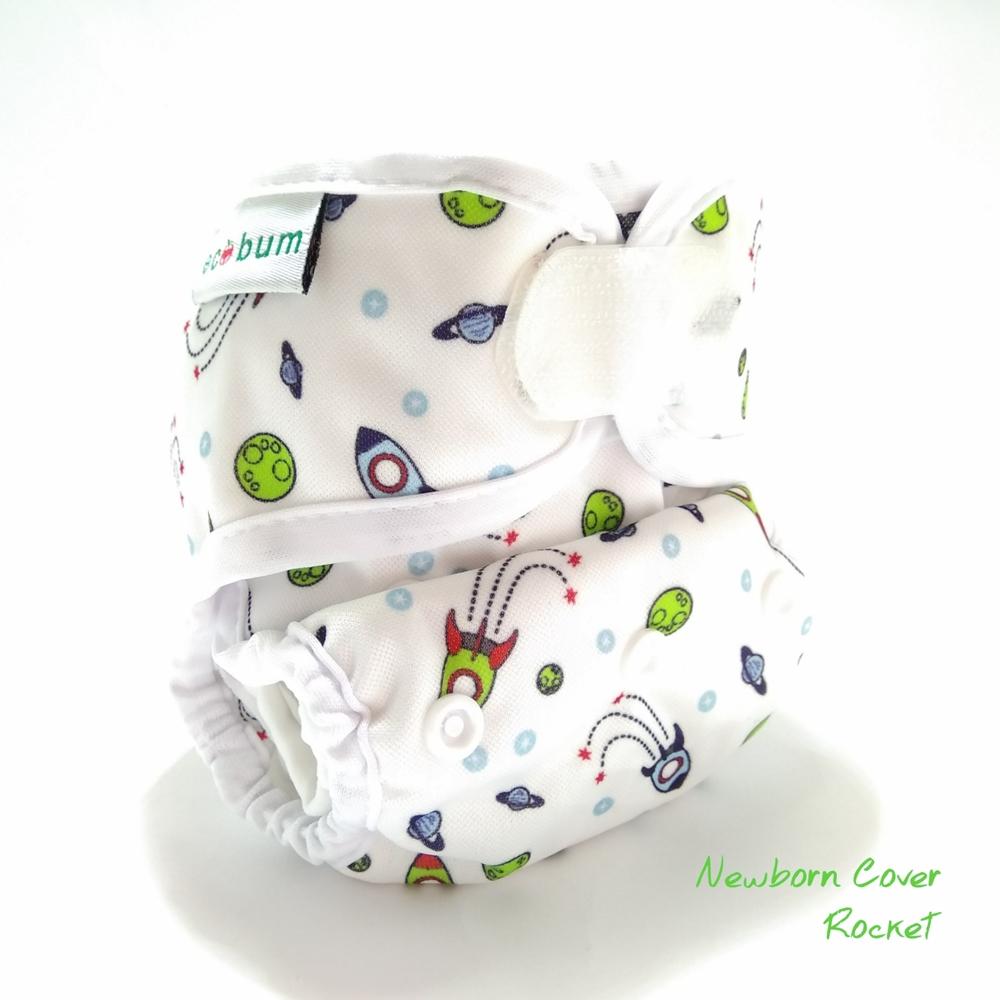 rocket1-clodi newborn ecobum,clodi murah bagus, lokal,impor, rekomended, anti bocor, tidur malam, heavy wetter, bayi baru lahir, prefold