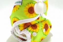 Sunflower1-clodi newborn ecobum,clodi murah bagus, lokal,impor, rekomended, anti bocor, tidur malam, heavy wetter, bayi baru lahir, prefold