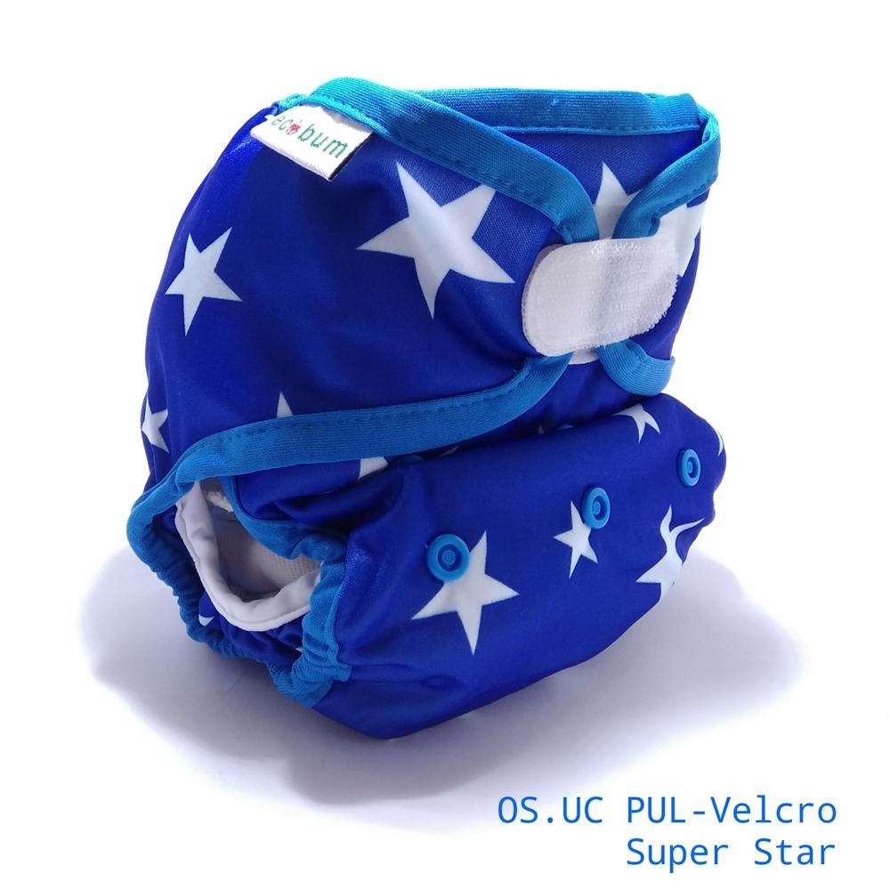 Superstar 1-clodi Universal Cover (UC),Original Pocket Ecobum,newborn cover,grosir clodi murah bagus, lokal,impor, rekomended,anti bocor,heavy wetter,hemp,bamboo,mikro, prefold