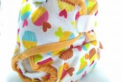Cup cake 1-clodi Universal Cover (UC),Original Pocket Ecobum,newborn cover,grosir clodi murah bagus, lokal,impor, rekomended,anti bocor,heavy wetter,hemp,bamboo,mikro, prefold